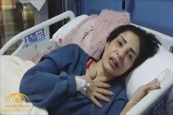 """بعد استغاثتها بالسيسي .. الفنانة المصرية """"أمل رزق"""" تكشف ما حدث لها في فيديو جديد"""