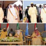 بالصور : وصول قادة الدول المشاركين في تمرين درع الخليج المشترك1 إلى المنطقة الشرقية