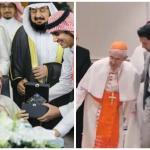 """بالصور و الفيديو : رئيس المجلس البابوي للحوار بين الأديان يزور المركز العالمي لمكافحة الفكر المتطرف """"اعتدال"""""""