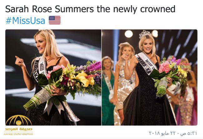 شاهد بالفيديو والصور: ملكة جمال أمريكا 2018