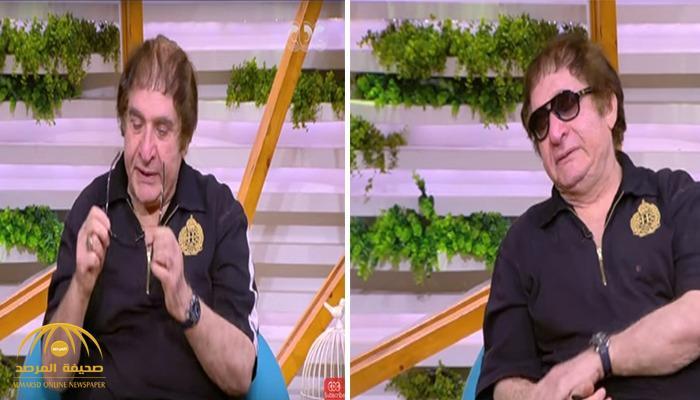 فنان مصري يبكي ويناشد الرئيس السيسي بالتدخل السريع -فيديو