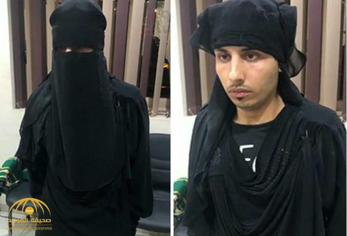 شاهد.. شاب مصري يرتدي  النقاب والعباءة لمراقبة النساء داخل دورات المياه في القاهرة!