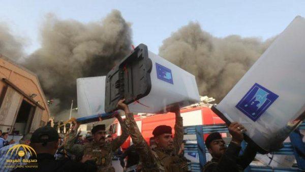 بعد حرق صناديق الاقتراع ..الصدر يحذر من حرب أهلية في العراق