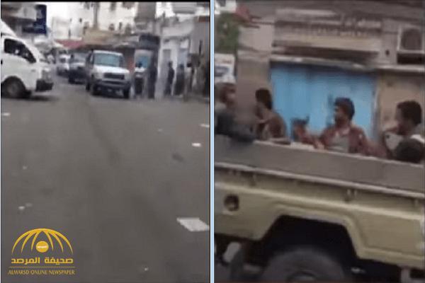 شاهد.. فرار ميليشيا الحوثي من مدينة الحديدة في اليمن!