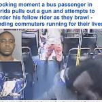 ترجمة حصرية .. شاهد مشاجرة عنيفة بين راكبين داخل حافلة في أمريكا تنتهي بجريمة  بشعة !