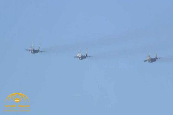 """خلال زيارته لـ""""صربيا"""" ..  بالفيديو: مقاتلات حربية ترافق طائرة بوتن قرب أجواء الناتو"""
