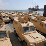 شاهد بالصور: قطر تمنح 68 عربة مدرعة للصومال بهدف التدخل واكتساب النفوذ في مقديشو