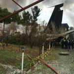 وسائل إعلام إيرانية: تحطم طائرة من طراز بوينغ 707 قرب طهران