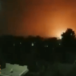 شاهد.. لحظة استهداف قوات التحالف قواعد عسكرية ودفاعات جوية لميليشيا الحوثي في صنعاء