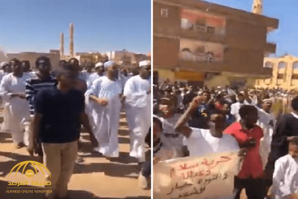 شاهد: انطلاق تظاهرات جديدة في السودان بعد صلاة الجمعة تطالب برحيل الحكومة!
