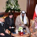 وفد عسكري تركي يزور أمير الكويت في قصره – صورة