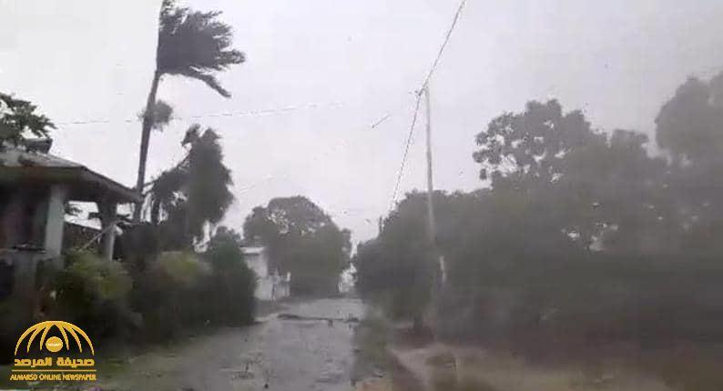 """""""كارثة جديدة"""".. إعصار مدمر يضرب شرقي الأرض"""