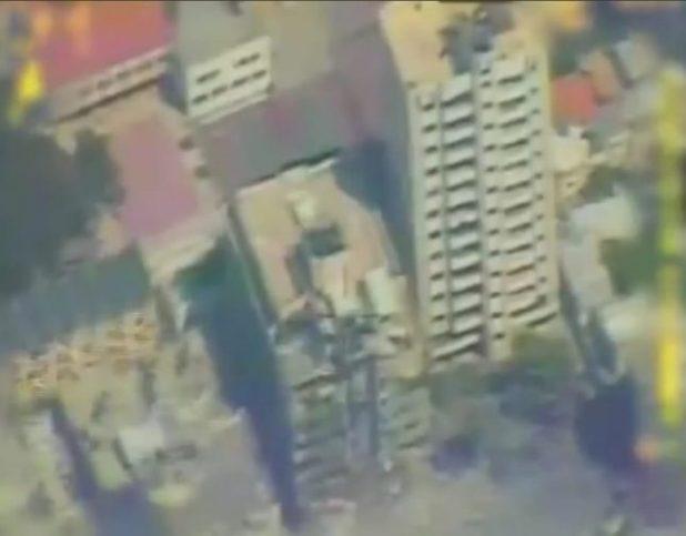 شاهد: إسرائيل تستهدف مقر استخبارات حماس.. وتواصل قصف غزة لليوم الثامن على التوالي