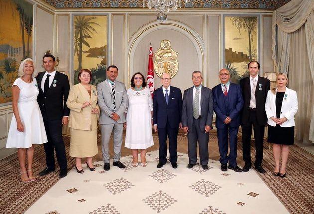 Les membres de la Colibe sont décorés de l'Ordre de la République - Tunisie