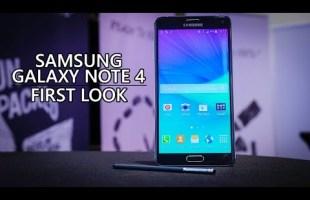 كل ما تريد معرفته عن الهاتف Galaxy Note 4