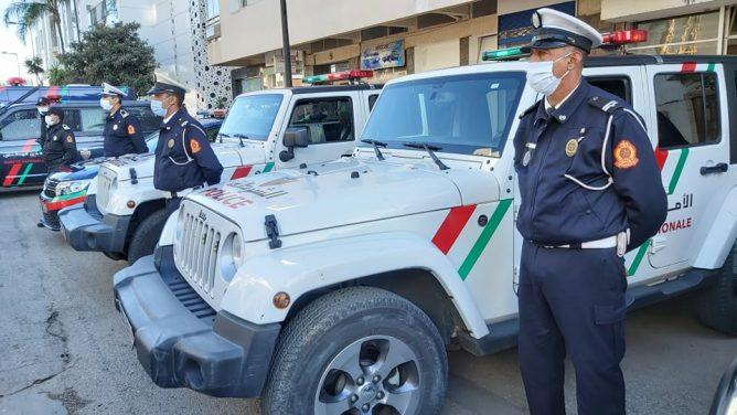 الأمن استعدادات أمنية بمدينة الرباط لتأمين احتفالات رأس السنة