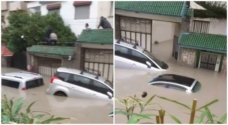 وفاة عمال في معمل عشوائي تسربت إليه مياه الأمطار بطنجة
