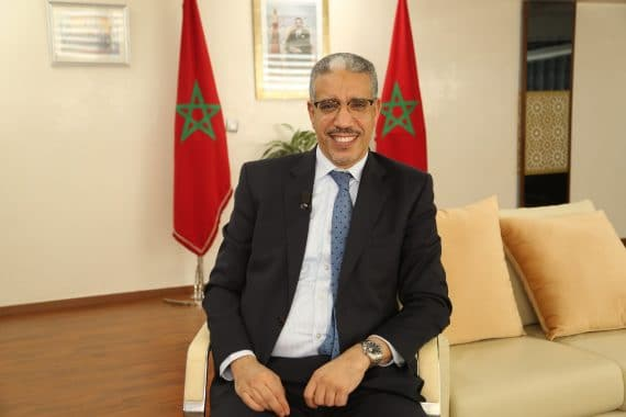 وزير الطاقة والمعادن والبيئة