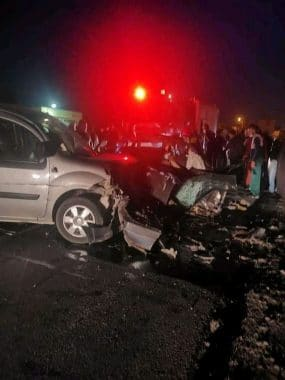حادث سير بجرسيف