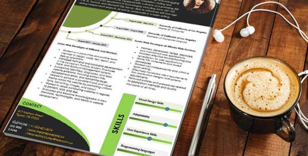 namodaj cv template word