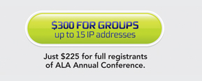 $300 for Groups, up to 15 IP addresses