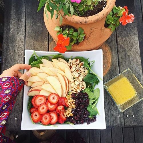 fruit dijon salad