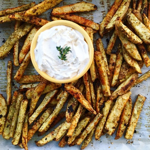 matchstick zataar fries