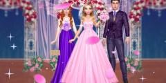 العاب بنات تلبيس فساتين الزفاف