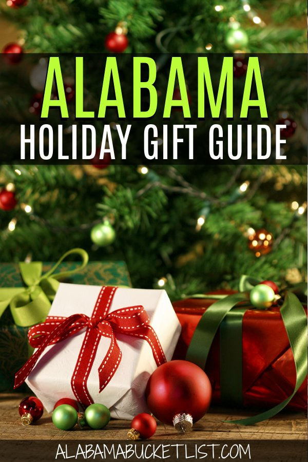 Find the perfect gift for Christmas in this Alabama holiday gift guide featuring items inspired by or made in our amazing southern state! #giftguide #holiday #alabama #christmas #holidays #travelgifts #gifts