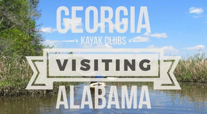 Georgia Kayak Fishing clubs headed to Alabama in 2017