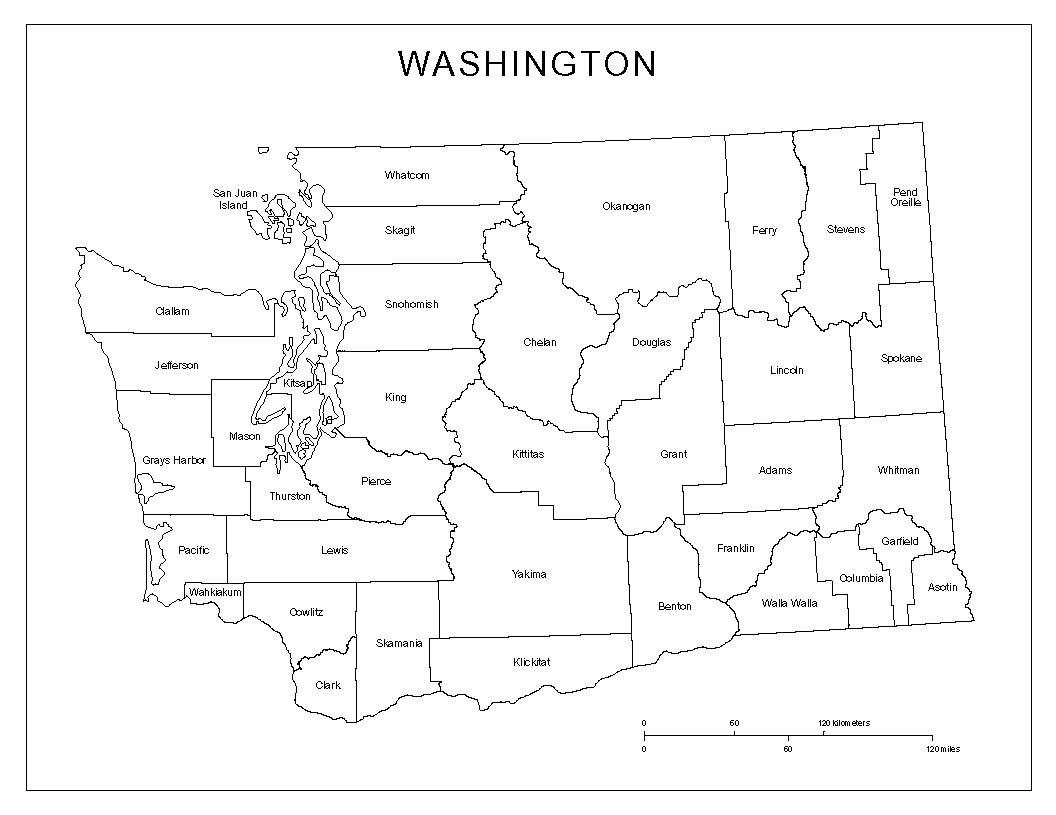 Maps Of Washington