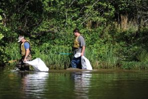 Volunteers have helped remove more than 15 million pounds of trash and debris through their efforts. (Alabama NewsCenter/file)
