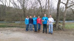 Volunteers help with a Renew Our Rivers Cahaba Valley cleanup. (Alabama NewsCenter/file)