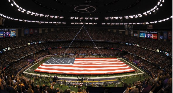 The Mercedes-Benz Superdome in New Orleans has hosted the BCS National Championship and a Super Bowl since its post-Katrina renovation. (Mercedes-Benz Superdome)