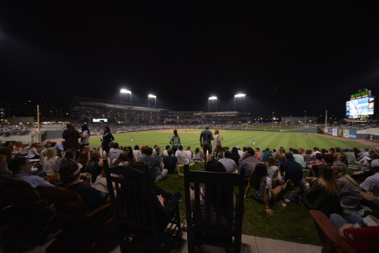 Regions Field and the Birmingham Barons are drawing crowds in the second venue's second season. (Chris Jones/Alabama NewsCenter)