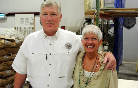Jeff and Peggy Sutton, founders of Sprouted
