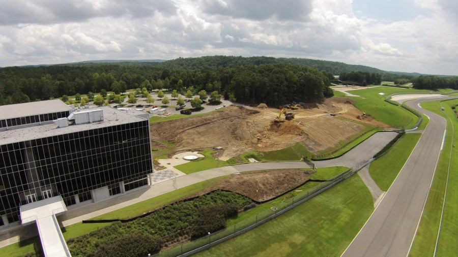 BL Harbert International has started construction on the Barber Vintage Motorsports Museum expansion.