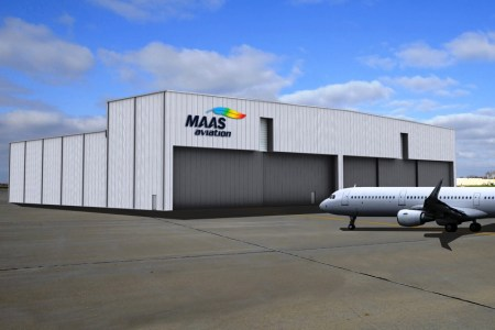 MAAS Aviation is investing $13 million and creating 52 jobs with a second paint facility at Mobile Aeroplex at Brookley. (contributed)