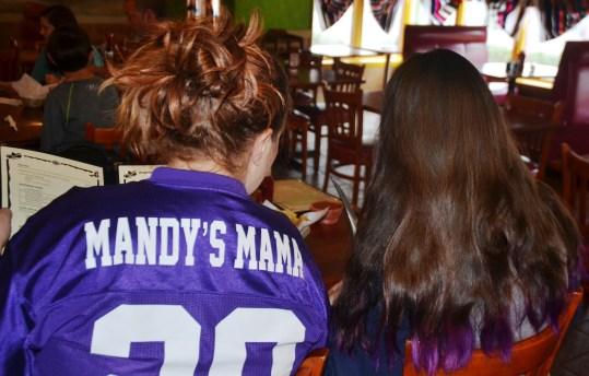 Jami Davis has a different way of identifying herself on her Spartans jersey. (Solomon Crenshaw Jr./Alabama NewsCenter)