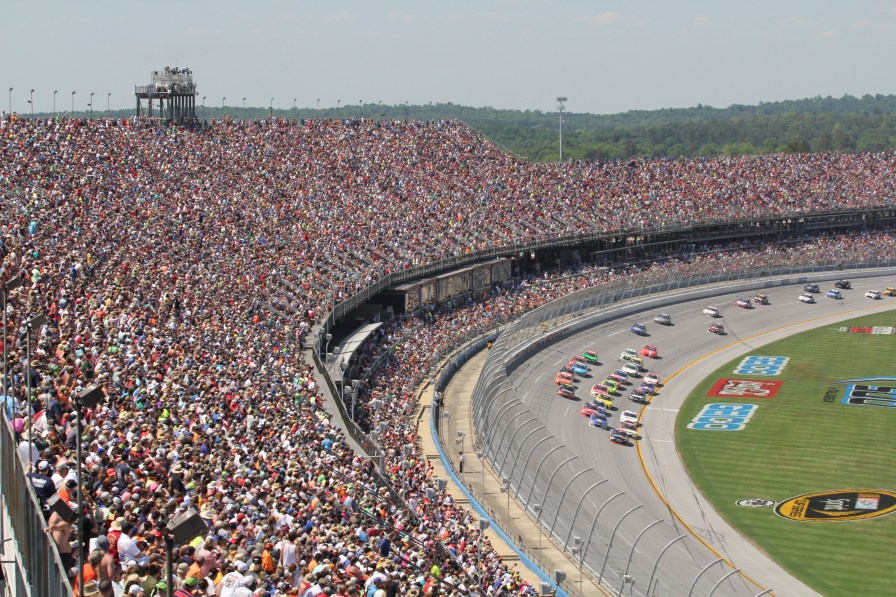 Have a blast at the Talladega Superspeedway Oct. 13-15. (Contributed)