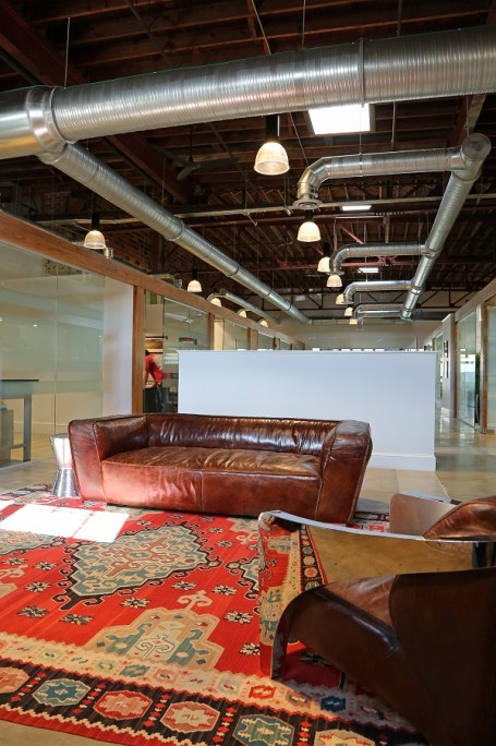 The office of Rogers & Willard Inc. Builders in the Buick Building is part of the redevelopment of St. Louis Street in downtown Mobile. (Mike Kittrell/Alabama NewsCenter)