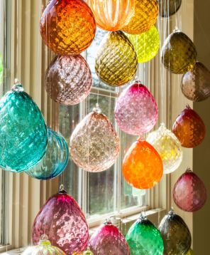 Orbix blown glass is made in Fort Payne. (Contributed)