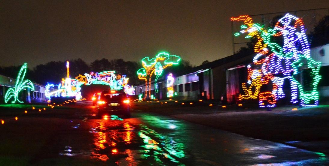 Birmingham Christmas Lights.Still Time To Enjoy Some Birmingham Drive Through Christmas