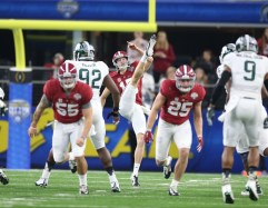 Alabama punter JK Scott is on the Senior Bowl's South squad. (Kent Gidley / UA Athletics)