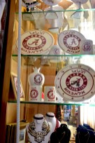 Among his traditional items is plenty of Alabama products. (Karim Shamsi-Basha/Alabama NewsCenter)