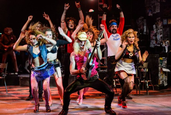 """""""Rock of Ages"""" is being presented by the Virginia Samford Theatre. (contributed/Clark Scott)"""