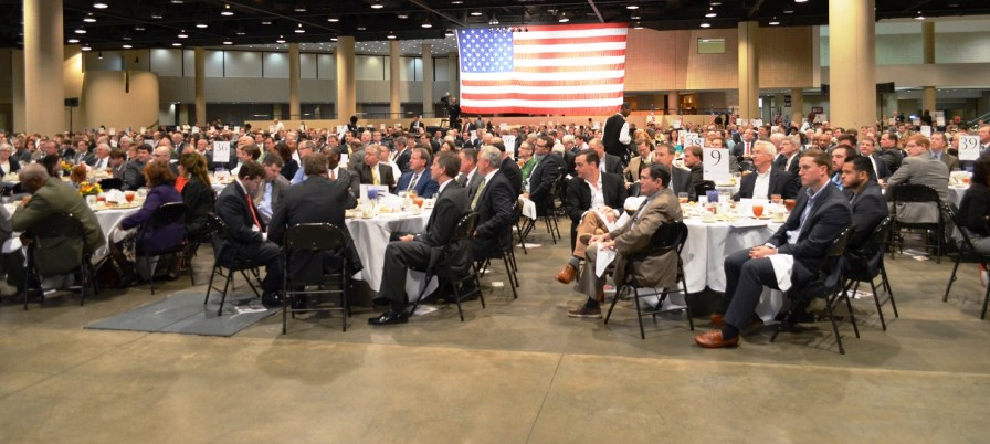 "Hundreds attended the Boy Scouts of America Greater Birmingham Council's ""American Values Luncheon."" (Michael Tomberlin/Alabama NewsCenter)"
