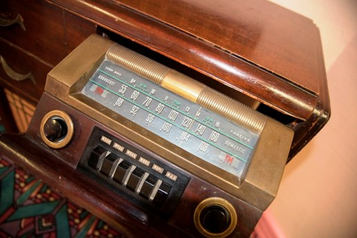 Memorabilia at the Birmingham Black Radio Museum. (Brittany Faush-Johnson/Alabama NewsCenter)