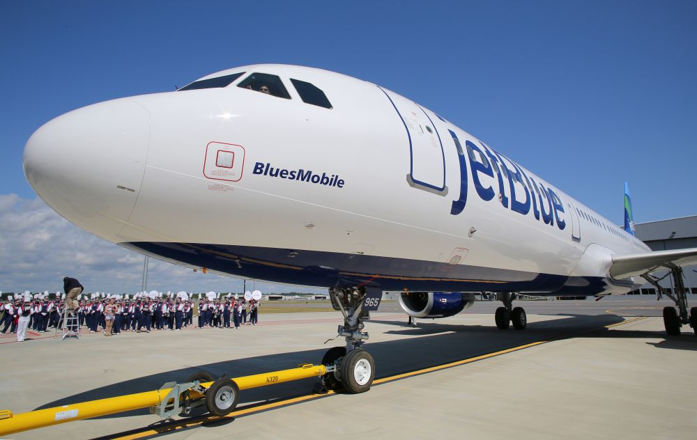 First Alabama-made Airbus A321 'BluesMobile' goes to JetBlue