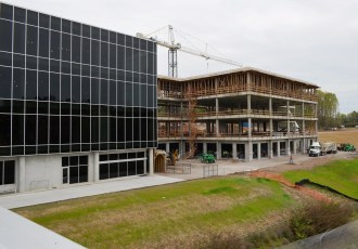 The expansion of the Barber Vintage Motorsports Museum should be complete later this year. (Michael Tomberlin/Alabama NewsCenter)